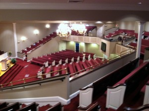 Inside Worship Facility