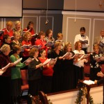 adult choir christmas 2010
